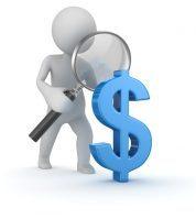 inspecting money